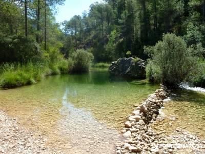 Hoz del Río Escabas - Serranía de Cuenca (Senderismo refrescante);rutas peguerinos senderismo por